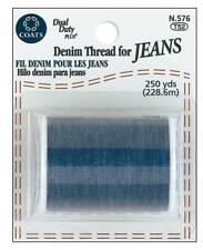 Coats Denim Thread For Jeans 250yd Spool, In Stock Never drop shipped.
