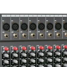 8Channel Professional bluetooth Live Studio Audio Mixers power mixing Amplifiers