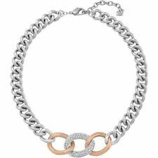 Swarovski Crystal Bound Necklace Rose Gold Palladium Plated MIB 5080040