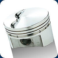 206058 SRP Pistons 351W Stroker Windsor Flat Top 418 SB Ford 4.040 Bore 12.0:1