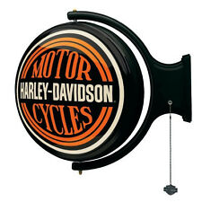 Harley-Davidson Motorcycles Collectible Wall Mount Rotating Pub Light: HDL-15622