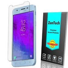 4X Samsung Galaxy J7 V (2nd Gen, 2018) ZenTech Clear Screen Protector Guard Film