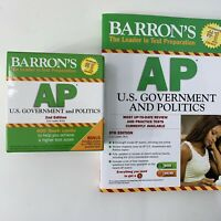 Barron's AP U.S. Government and Politics Book Flash Cards, 2nd Edition  New
