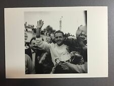 1960 Phil Hill Ferrari Monza, Italy F1 Jesse Alexander Postcard Post Card RARE!!