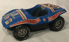 Vintage 1972 Big Jim Mattel Dune Devil Buggy Blue W/ Decals