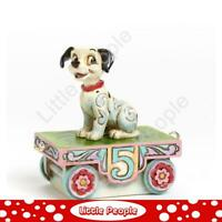 Jim Shore Birthday Train Lucky - Number Five Figurine Disney Traditions