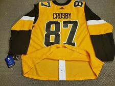 Adidas Authentic Jersey Pittsburgh Penguins Sidney Crosby size 54 alternate 3rd