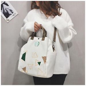 HOT Starbucks Bag leisure Tote Messenger Bags Lady Large Handbag Limited Edition