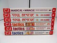 Soul Rescue Tactics Magical Miracle 6 Supernatural Fantasy Manga