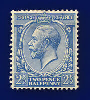 1917 SG372 2½d Pale Blue N21(11) Mounted Mint Hinged Cat £15 cnqk