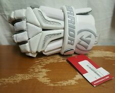 NEW WHITE LACROSSE WARRIOR BURN PRO GLOVE SIZE EXTRA LARGE XL LEFT HAND ONLY