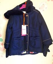 99f77ba60d93c8 Ted Baker Girls Bow Detail Coat   Jacket   Mittens. 2-3 Years.