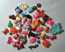 Clearance Sale Lot 50 new pieces Mix Cameo Resin Cabochons Supplies sweets food