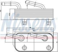 NISSENS Transmission Oil Cooler - 90658 (SPEC ORDER non-UK stock)