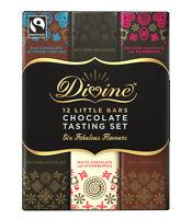 Divine 12 Little Chocolate Tasting Set - Six Fabulous Flavours