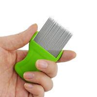 Anoplura Flea Comb Cootie Stainless Steel Lice Comb for Children Flea Combs NIU