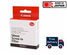 Canon 58mm Regular Filter Protect for all G Series (UK Stock)
