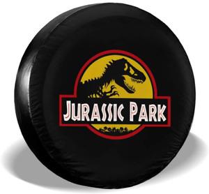 Jurassic Park Univesal Spare Tire Cover for Jeep, Trailer, RV, SUV, Truck Wheel