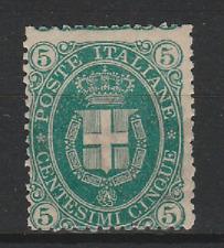 FRANCOBOLLI - 1889 REGNO UMBERTO I° C.5 MLH Z/8303