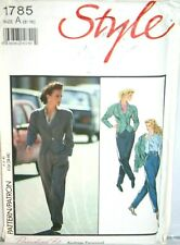 Ladies Vintage Jacket and Trousers SEWING PATTERN 1785 (SP086)