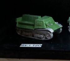 Friend or Foe RV01 1/72 Diecast WWII Russian T-20 Komsomoletz Light Tractor