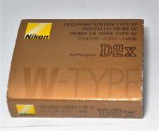 Nikon Focusing Screen Type W D2X Clear-Matte III w/Case & Box from Japan F/S