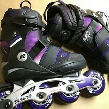 K2 Charm Boa Alu Skates Sizes 1.0 - 5.0