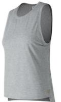 New Balance Graphic Print Grey Tank Top Ladies Women's UK Size M *REF96*