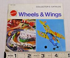 MATTEL WHEELS & WINGS TOY PRODUCT CATALOG 1970s BIG JIM, SIZZLERS, SUPER STARS