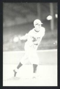 JIM LEVEY Real Photo Postcard RPPC 1930-33 St. Louis Browns George Burke