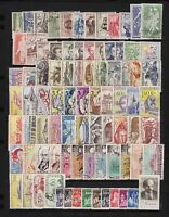 Czechoslovakia - 84 older stamps - all complete sets