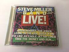 STEVE MILLER BAND LIVE - CD