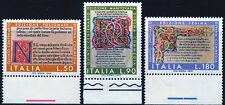 REP.IT.1972 DIVINA COMMEDIA BORDO DI FOGLIO (P) SERIE COMPLETA