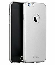 4 Cut iPaky Hard Back Protective Case For Apple iPhone 5/5s (Silver)