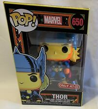 Funko POP! Marvel Thor Black light #650, Target Exclusive in hand