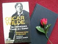 OSCAR WILDE : HUMOUR  CORROSIF ..1999