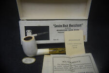 Genuine Block Meerschaum - Product of Turkey - Box and Paperwork Included
