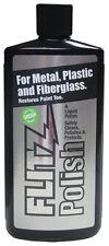 Flitz Metal Plastic Fiberglass Polish, 3.4 Ounce Liquid Bottle