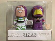 2017 D23 Disney Expo EXCLUSIVE: Pixar LE 1500 Buzz Lightyear & Zurg Tin Wind-Up