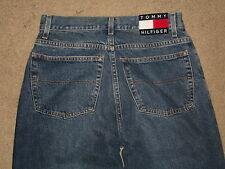 Tommy Jeans Size 30 / 347 Freedom Tapered Leg Medium Blue Denim Mens Jeans