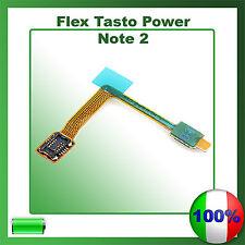 FLAT FLEX ACCENSIONE SAMSUNG NOTE 2 N7100 TASTO ON OFF POWER SPEGNIMENTO