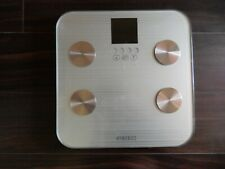 HoMedics SC-531 Body Analyzers Bath Scale Estimates Body Fat (Close to Brand New