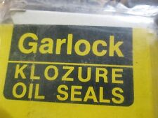 TRUCK Seal, Plain Encased Garlock Oil Seal 5330-00-154-2385 E2615 B6