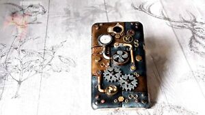 Steampunk 3D Phone Case Cover Cosplay Retro Vintage