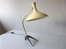 Exklusive Louis Kalff Tischlampe COSACK Lampe Leuchte Krähenfuss Table 50er 50s