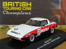 ATLAS EDITIONS BTCC MAZDA RX-7 WIN PERCY 1980 CHAMPION CAR MODEL HR11 1:43