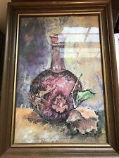 Original signed painting art William Bill Dotson Youngstown Ohio Illustrations