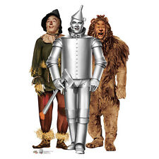 TIN MAN, SCARECROW & LION Wizard of Oz 75th CARDBOARD CUTOUT Standee Standup F/S
