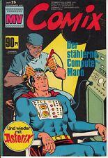 MV COMIX 1970 Nr. 25 (1) sehr guter ZUSTAND Mickyvision mit SUPERMAN Asterix