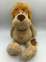 Official NICI Lion Plush Kids Soft Stuffed Toy Animal Doll Wild Brown Teddy Bear